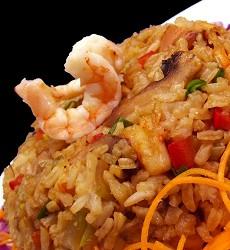 Slávky s rýží Basmati