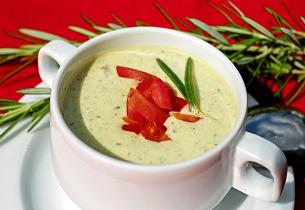 Avokádová polévka