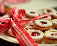 Americké vánoční mini-cookies